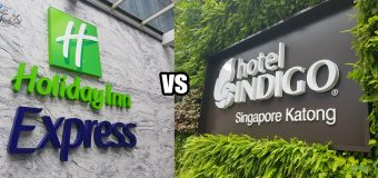 Holiday Inn Express vs Hotel Indigo Katong Review