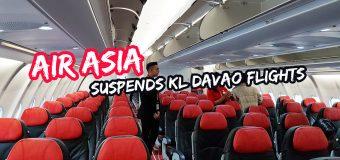 AirAsia Suspends KL Davao Flights
