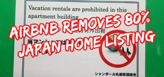 Airbnb Removes 80% of Japan Home Listing