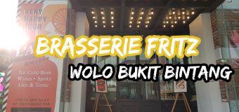 Brasserie Fritz WOLO Bukit Bintang US Potato Culinary Menu