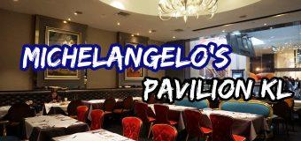 Michelangelo's Italian Restaurant Pavilion KL US Potato Culinary Menu