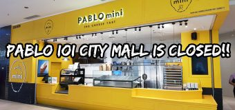 Pablo Cheese Tart Closed Down in IOI City Mall Putrajaya