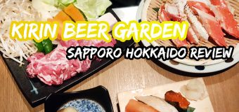 Kirin Beer Garden Sapporo Genghis Khan Set Meal Review