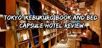 Tokyo Ikebukuro Book and Bed Capsule Hotel Review
