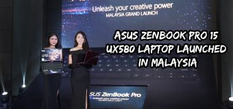 ASUS ZenBook Pro 15 UX580 Laptop Finally Launched in Malaysia