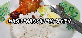 Nasi Lemak Saleha Kampung Pandan Kuala Lumpur Review