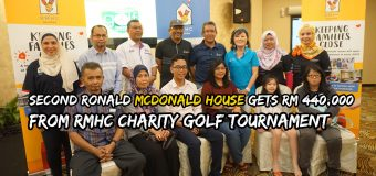 Second Ronald McDonald House gets RM 440,000 from RMHC Charity Golf Tournament