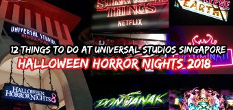 12 Things To Do at Universal Studios Singapore Halloween Horror Nights 2018