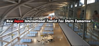 New Japan International Tourist Tax Starts Tomorrow