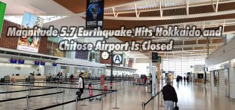 Magnitude 5.7 Earthquake Hits Hokkaido and Chitose Airport Is Closed