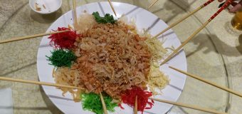 BBC article mentions Yee Sang is created in Singapore