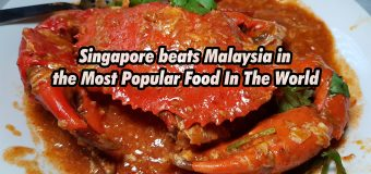 Singapore beats Malaysia in the Most Popular Food In The World