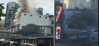 Fire at Central World Shopping Mall Bangkok Three People Died