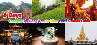 Six Days in Chengdu Du Jiang Yan Le Shan Emei Sichuan China