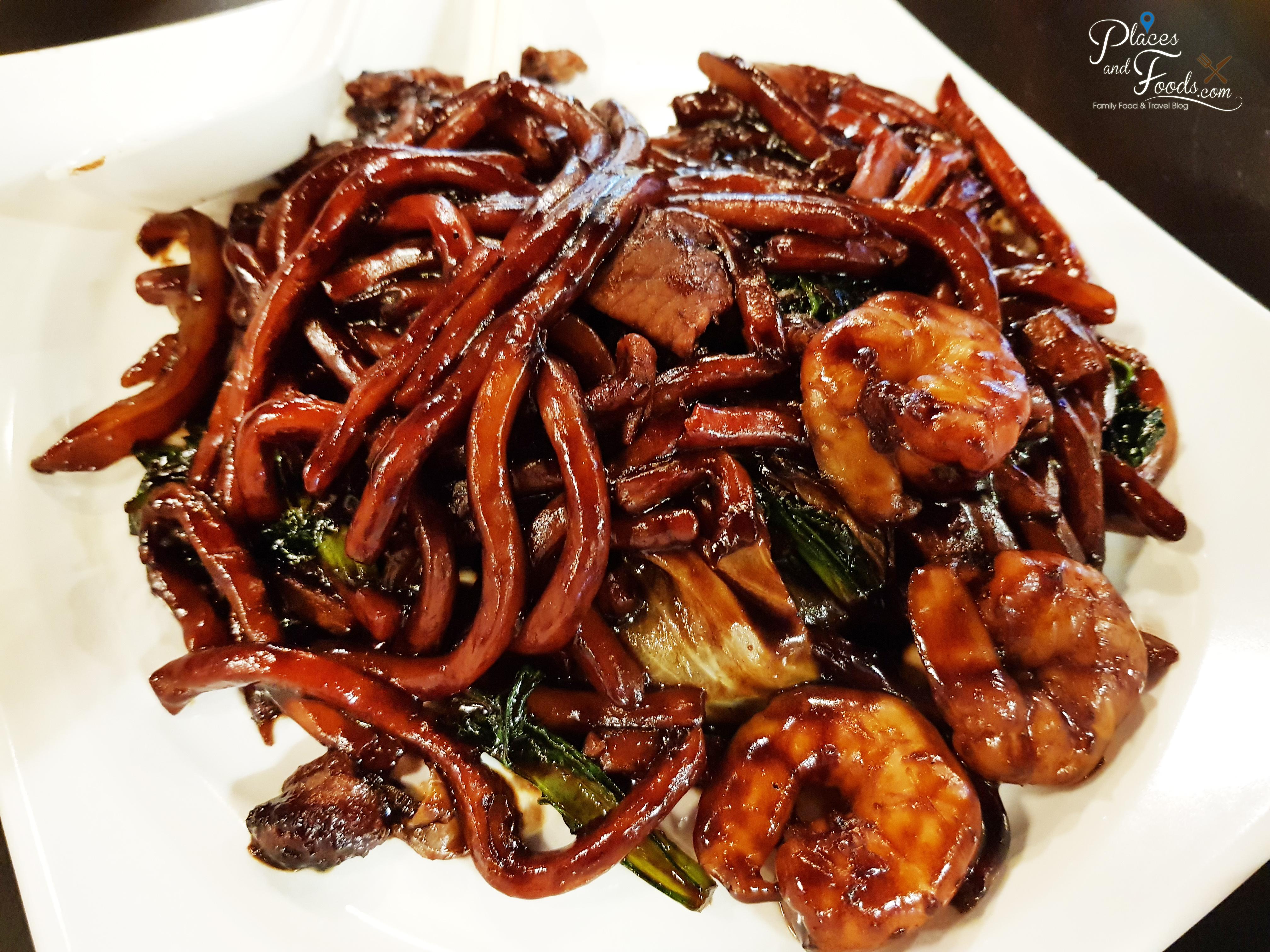 Kuala Lumpur Style Hokkien Noodle at Malaysian Food Street Sentosa