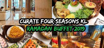 Curate Four Seasons Hotel Kuala Lumpur Ramadan Buffet with Chef Fazley Yaakob