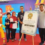 McDonald's Malaysia Sets New Malaysia Book of Records