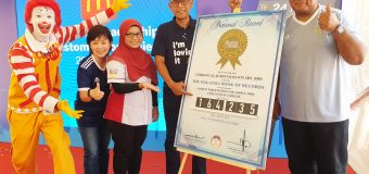 McDonald's Malaysia Sets New Malaysia Book of Records