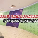 AirAsia's Santan Restaurant Is Opening at Mid Valley Megamall