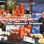 California Raisins Evening with Chef Emmanuel Stroobant