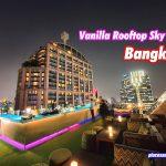 Vanilla Rooftop Skybar in Bangkok Compass Skyview Hotel