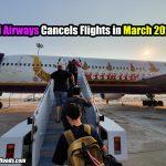 Thai Airways Cancels Flights in March 2020