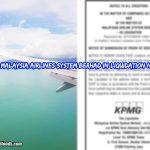 KPMG Malaysia Airlines System Berhad in Liquidation Notice